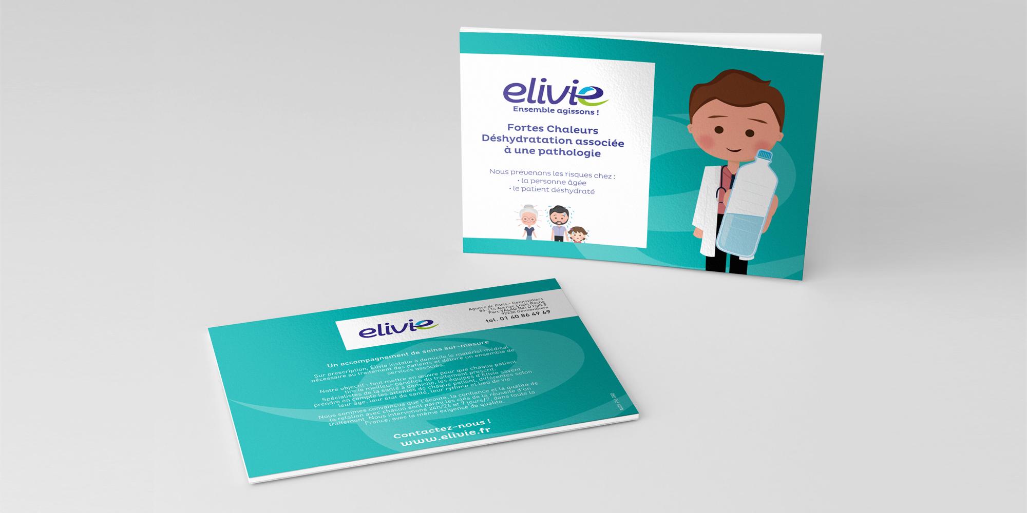 slide projet Elivie
