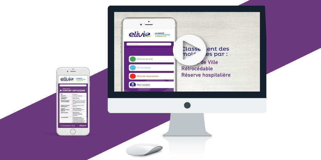 miniature E-App ELIVIE Animation, Site web