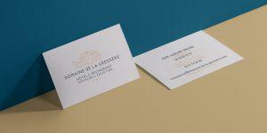 miniature CHÂTEAU DE LA GRESSIÈRE Communication par l'objet, Impression