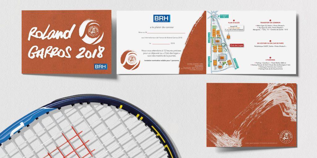 miniature Invitation VIP BRH Édition, Impression